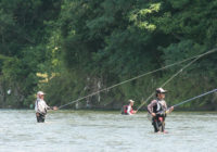 鮎釣り大会1