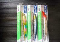 ima(アムズデザイン) サスケ120、ロケットベイト95、ガン吉30,40
